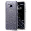 Чехол-накладка для Samsung Galaxy S8 (Spigen Liquid Crystal 565CS21614) (прозрачный) - Чехол для телефонаЧехлы для мобильных телефонов<br>Обеспечит защиту телефона от царапин, потертостей и других нежелательных внешних воздействий.<br>