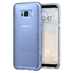 Чехол-накладка для Samsung Galaxy S8 (Spigen Neo Hybrid Crystal Glitter 565CS21607) (голубой кварц)