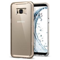 Чехол-накладка для Samsung Galaxy S8 (Spigen Neo Hybrid Crystal 565CS21603) (шампань)