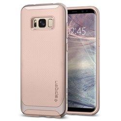 Чехол-накладка для Samsung Galaxy S8 (Spigen Neo Hybrid 565CS21601) (бежевый)