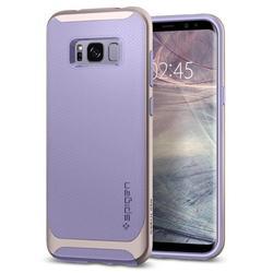 Чехол-накладка для Samsung Galaxy S8 (Spigen Neo Hybrid 565CS21596) (фиолетовый)