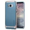 Чехол-накладка для Samsung Galaxy S8 (Spigen Neo Hybrid 565CS21595) (голубой) - Чехол для телефонаЧехлы для мобильных телефонов<br>Защитит устройство от пыли, влаги, царапин и других внешних воздействий.<br>