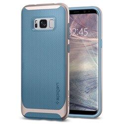 Чехол-накладка для Samsung Galaxy S8 (Spigen Neo Hybrid 565CS21595) (голубой)