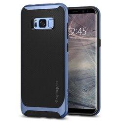 Чехол-накладка для Samsung Galaxy S8 (Spigen Neo Hybrid 565CS21598) (голубой)