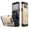Чехол-накладка для Samsung Galaxy S8 (Spigen Slim Armor 565CS20832) (шампань) - Чехол для телефонаЧехлы для мобильных телефонов<br>Защитит смартфон от грязи, пыли, брызг и других внешних воздействий.<br>