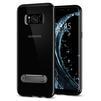 Чехол-накладка для Samsung Galaxy S8 (Spigen Ultra Hybrid S 565CS21633) (черный) - Чехол для телефонаЧехлы для мобильных телефонов<br>Обеспечит защиту устройства от ударов и падений.<br>