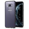 Чехол-накладка для Samsung Galaxy S8 (Spigen Ultra Hybrid 565CS21628) (матово-черный) - Чехол для телефонаЧехлы для мобильных телефонов<br>Чехол-накладка защитит смартфон от грязи, пыли, брызг и других внешних воздействий.<br>