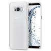 Чехол-накладка для Samsung Galaxy S8 Plus (Spigen Air Skin 571CS21679) (матово-прозрачный) - Чехол для телефонаЧехлы для мобильных телефонов<br>Защитит смартфон от грязи, пыли, брызг и других внешних воздействий.<br>