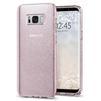 Чехол-накладка для Samsung Galaxy S8 Plus (Spigen Liquid Crystal Glitter 571CS21667) (розовый кварц) - Чехол для телефонаЧехлы для мобильных телефонов<br>Обеспечит защиту телефона от царапин, потертостей и других нежелательных внешних воздействий.<br>