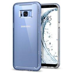Чехол-накладка для Samsung Galaxy S8 Plus (Spigen Neo Hybrid Crystal 571CS21657) (голубой коралл)