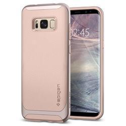 Чехол-накладка для Samsung Galaxy S8 Plus (Spigen Neo Hybrid 571CS21653) (бежевый)