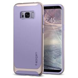 Чехол-накладка для Samsung Galaxy S8 Plus (Spigen Neo Hybrid 571CS21648) (фиолетовый)