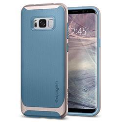 Чехол-накладка для Samsung Galaxy S8 Plus (Spigen Neo Hybrid 571CS21647) (голубая Ниагара)