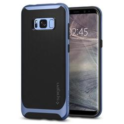 Чехол-накладка для Samsung Galaxy S8 Plus (Spigen Neo Hybrid 571CS21650) (голубой)