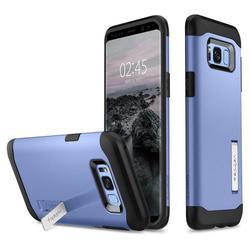 Чехол-накладка для Samsung Galaxy S8 Plus (Spigen Slim Armor 571CS21125) (голубой)