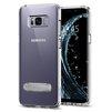 Чехол-накладка для Samsung Galaxy S8 Plus (Spigen Ultra Hybrid S 571CS21686) (кристально-прозрачный) - Чехол для телефонаЧехлы для мобильных телефонов<br>Обеспечит защиту устройства от ударов и падений.<br>