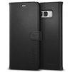 Чехол-книжка для Samsung Galaxy S8 Plus (Spigen Wallet S Case 571CS21687) (черный) - Чехол для телефонаЧехлы для мобильных телефонов<br>Защитит смартфон во время падений, а также от грязи, пыли и других внешних воздействий.<br>