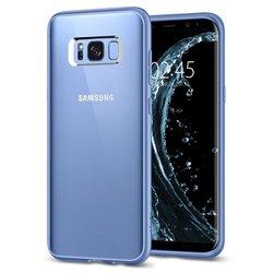 Чехол-накладка для Samsung Galaxy S8 Plus (Spigen Ultra Hybrid 571CS21681) (голубой коралл)