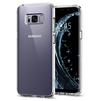 Чехол-накладка для Samsung Galaxy S8 Plus (Spigen Ultra Hybrid 571CS21683) (кристально-прозрачный) - Чехол для телефонаЧехлы для мобильных телефонов<br>Чехол-накладка защитит смартфон от грязи, пыли, брызг и других внешних воздействий.<br>