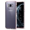 Чехол-накладка для Samsung Galaxy S8 Plus (Spigen Ultra Hybrid 571CS21684) (кристально-розовый) - Чехол для телефонаЧехлы для мобильных телефонов<br>Чехол-накладка защитит смартфон от грязи, пыли, брызг и других внешних воздействий.<br>