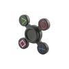 Игрушка антистресс Fidget Spinner (Red Line YT000012058) (спиннер, металлический, черный, Джойстик) - ИгрушкаИгрушки антистресс<br>Игрушка предназначена для снятия стресса, а также помогает сфокусироваться на конкретной мысли или задаче. Антистрессовый спиннер очень прост в освоении, он получил огромную популярность среди людей всех возрастов и профессий.<br>