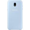 Чехол-накладка для Samsung Galaxy J3 2017 (Dual Layer EF-PJ330CLEGRU) (голубой) - Чехол для телефонаЧехлы для мобильных телефонов<br>Чехол плотно облегает корпус и гарантирует надежную защиту от царапин и потертостей.<br>