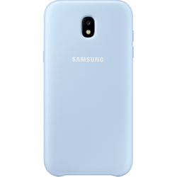 Чехол-накладка для Samsung Galaxy J3 2017 (Dual Layer EF-PJ330CLEGRU) (голубой)