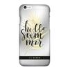 Чехол-накладка для Apple iPhone 7 (So Seven Cannes SVNCSCAN1IP7) (Hello, прозрачный) - Чехол для телефонаЧехлы для мобильных телефонов<br>Чехол плотно облегает корпус и гарантирует надежную защиту от царапин и потертостей.<br>