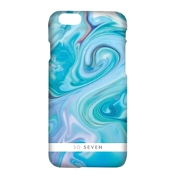 Чехол-накладка для Apple iPhone 7 (So Seven Carrare SVNCSCARRA3IP7) (голубой)