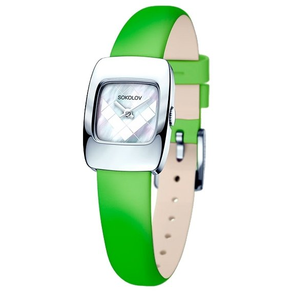 Часы SOKOLOV 124.30.00.000.04.02.2 Часы Romanson SL1223QLW(BK)-ucenka