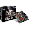 ASRock H110M-HDV R3.0 RTL - Материнская платаМатеринские платы<br>Материнская плата, 7th и 6th Generation Intel Core Processors (разъем 1151), DDR4 2133, 1 PCIe 3.0 x16, 1 PCIe 2.0 x1, DVI-D, D-Sub, HDMI, 4 SATA3, 4 USB 3.0 (2 передних, 2 задних), поддерживает Full Spike Protection, ASRock Live Update &amp;amp; APP Shop, питание 24+8 pin, порт HDMI поддерживает вывод видео в формате 4K.<br>