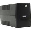 FSP Group DP850 (PPF4801300) - Источник бесперебойного питания, ИБПИсточники бесперебойного питания<br>Интерактивный ИБП, 1-фазное входное напряжение, выходная мощность 850 ВА / 480 Вт, выходных разъемов: 4, разъемов с питанием от батареи: 4 компьютерных (IEC-320-C13), время зарядки 6 ч.<br>