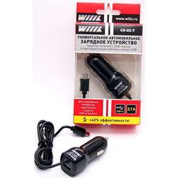 Автомобильное зарядное устройство 1хUSB + кабель microUSB (Wiiix CH-U2-7)