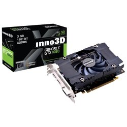 Inno3D GeForce GTX 1060 1506Mhz PCI-E 3.0 3072Mb 8000Mhz 192 bit DVI HDMI HDCP Compact RTL