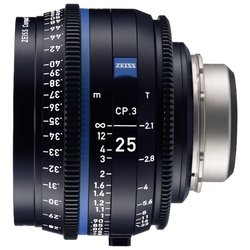 Zeiss Compact Prime CP.3 25mm/T2.1 Canon EF