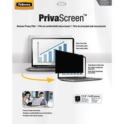 """Защитное стекло для экрана ноутбука 17.3"""" (Fellowes FS-48023) (приват фильтр)"""