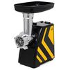Kitfort KT-2101-4 - МясорубкаМясорубки<br>Мясорубка, мощность 300 Вт, перерабатывает 1.2 кг/мин, насадка для приготовления колбас, насадка для кеббе, корпус из пластика.<br>