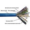 Кабель информационный U/UTP кат.5е 305м (Lanmaster TWT-5EUTP25) (синий) - КабельСетевые аксессуары<br>Многопарный кабель (25 пар), категория 5е, AWG, PVC, длина 305м.<br>