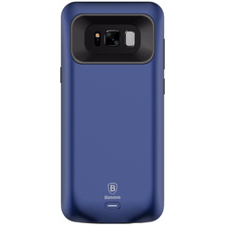 Чехол аккумулятор для Samsung Galaxy S8 Plus (Baseus Geshion Backpack Power Bank ACSAS8P-ABJ15) (синий)