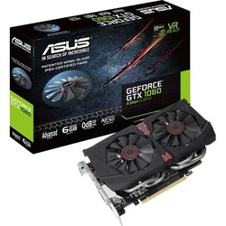 ASUS GeForce GTX 1060 1569Mhz PCI-E 3.0 6144Mb 9100Mhz 192 bit DVI 2xHDMI 2xDP HDCP Advanced Edition (GTX1060-A6G-9GBPS) RTL