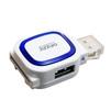Картридер + Hub Ginzzu GR-514UB (белый) - Картридер, Card ReaderКартридеры (Card Reader)<br>Внешний картридер и концентратор USB 3.0, 1 порт USB2.0 и USB 3.0, поддержка форматов SD/SDXC/SDHC/MMC и microSD/SDXC/SDHС.<br>