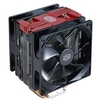 Cooler Master Hyper 212 Turbo Red LED - Кулер, охлаждениеКулеры и системы охлаждения<br>Для процессора, socket AM2, AM2+, AM3/AM3+/FM1, AM4, FM2/FM2+, S775, S1150/1151/S1155/S1156/2066, S1356/S1366, S2011, 2 вентилятора (120 мм, 600-1600 об/мин), радиатор: алюминий, 31 дБ.<br>
