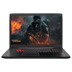 "asus rog gl702vm (intel core i7 7700hq 2800 mhz/17.3""/1920x1080/24gb/1256gb hdd+ssd/dvd нет/nvidia geforce gtx 1060/wi-fi/bluetooth/windows 10 home)"