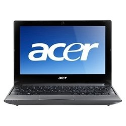 "acer aspire one aod255e-n558qkk (atom n550 1500 mhz/10.1""/1024x600/2048mb/320gb/dvd нет/wi-fi/bluetooth/win 7 starter)"