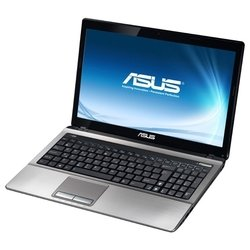 "asus k53sj (core i7 2670qm 2200 mhz/15.6""/1366x768/6144mb/750gb/dvd-rw/wi-fi/win 7 hp)"