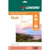 Фотобумага матовая А4 (50 листов) (Lomond 0102090)  - БумагаОбычная, фотобумага, термобумага для принтеров<br>Фотобумага предназначена для печати изображений с максимальным разрешением.<br>