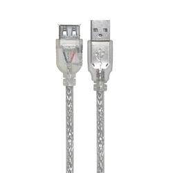 Кабель-удлинитель USB AM - USB AF 3.0м (Greenconnect GCR-UEC2M-BD2SF-3.0m) (прозрачный)