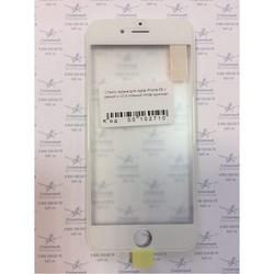 Стекло экрана для Apple iPhone 6S с рамкой и ОСА пленкой (102710) (белый) (1 категория Q)