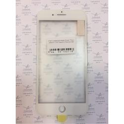 Стекло экрана для Apple iPhone 7 Plus с рамкой и ОСА пленкой (102718) (белый) (1 категория Q)