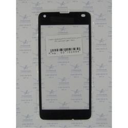 Стекло экрана для Microsoft Nokia Lumia 550 (102494) (черный) (1 категория Q)